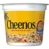 12-Pack Cheerios Gluten Free Cereal Cup (1.3 oz)