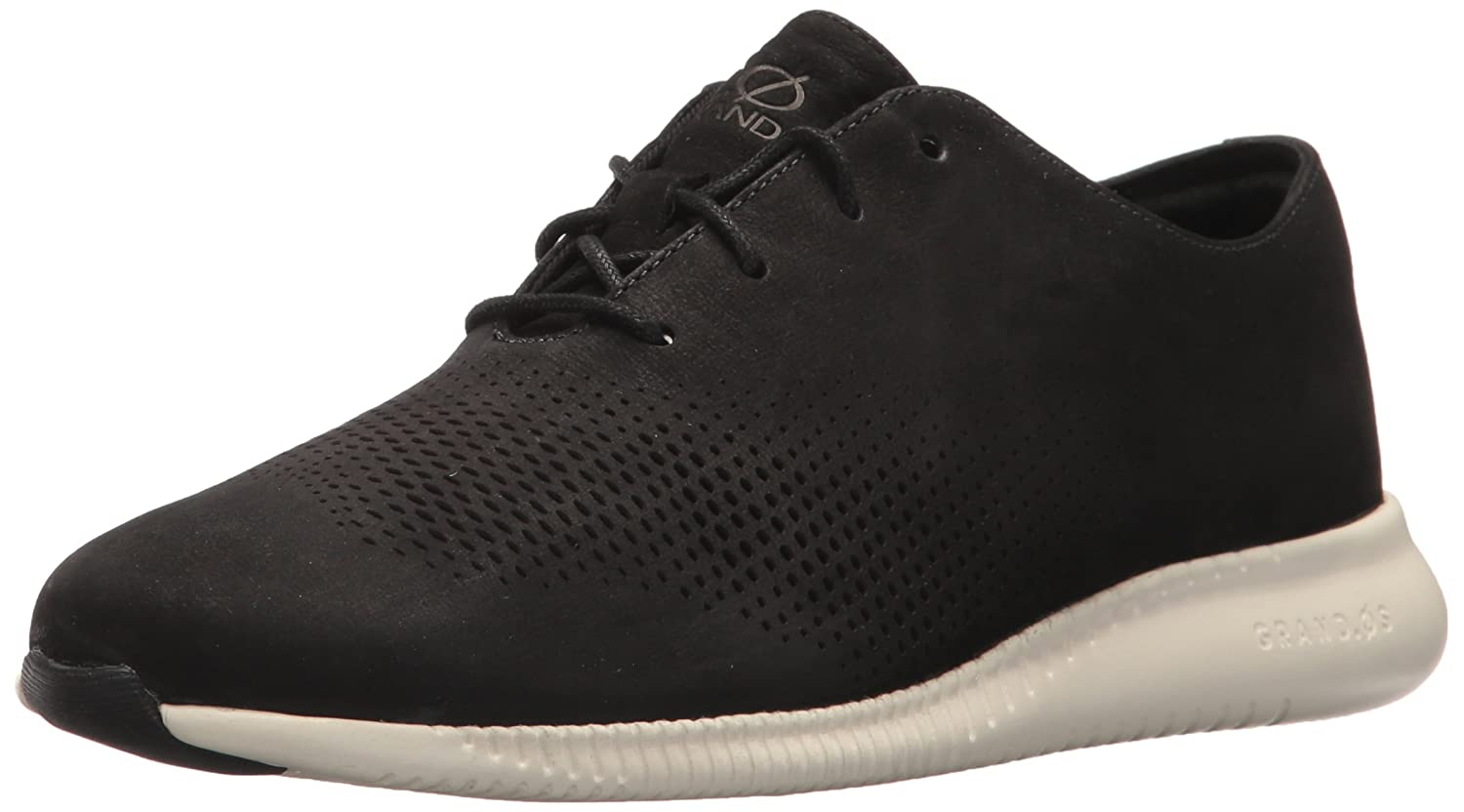 Black Cole Haan Womens 2.Zerogrand Laser Wing Oxford Oxfords
