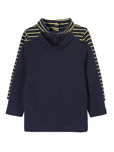 aa9169d0d VERTBAUDET Lote de 2 Camisetas de Cuello Alto para bebé  Amazon.es  Ropa y  accesorios