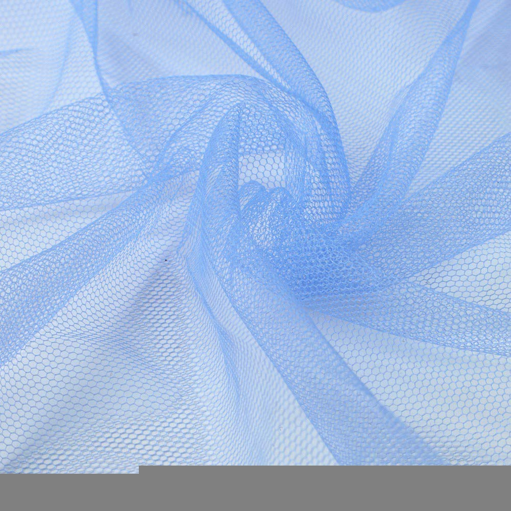 Doubleer Mosquito Net for Bed 4 Corners Fine Mesh Bedding Canopy Netting Full Sizes Square Curtains Bedding Home Decor