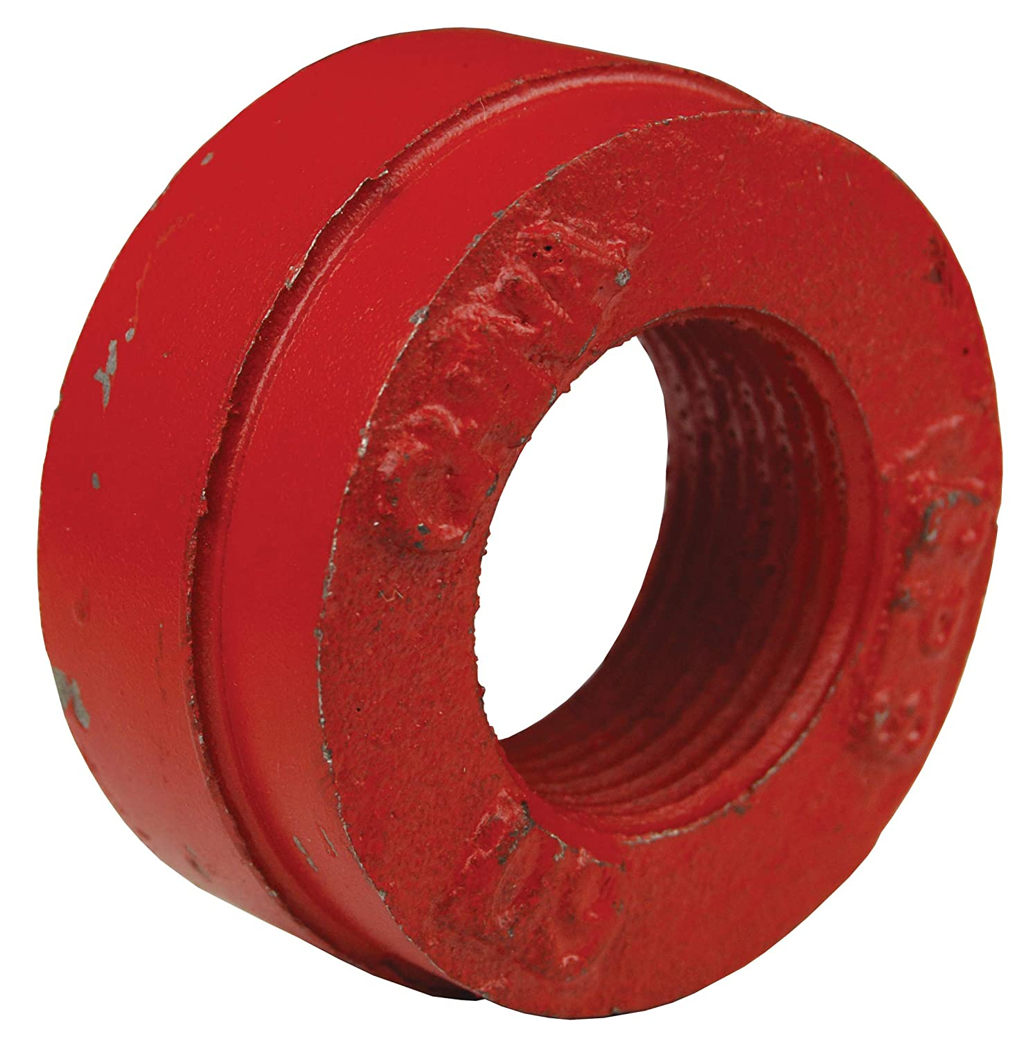 4 ID Ductile Iron 4 ID Dixon EC401 4 Nominal ANSI Cap x 1 Tapped Outlet