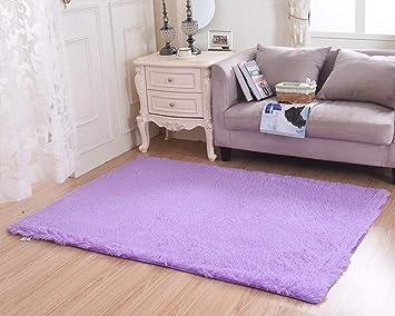 Merveilleux Living Room Rug, CWKTITI Super Soft Indoor Modern Shag Area Rugs Bedroom Rug  For Children