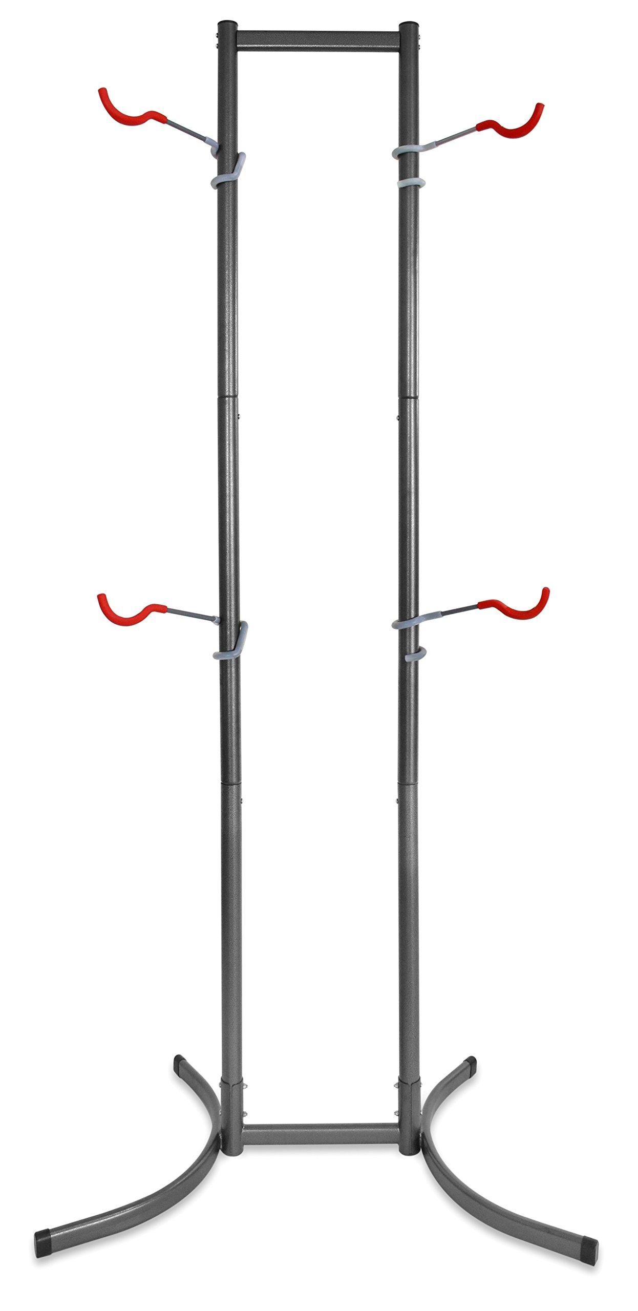 Delta Cycle Michelangelo Canaletto Two Four Bike Gravity Stand Garage Indoor Storage Adjustable