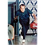 "CafePress - Nixon Bowling - 23""x35"" High Quality Poster on Heavy Semi-gloss Paper"