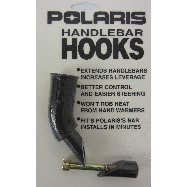 Polaris OEM HandleBar J-Hook Black 45 Degree Short