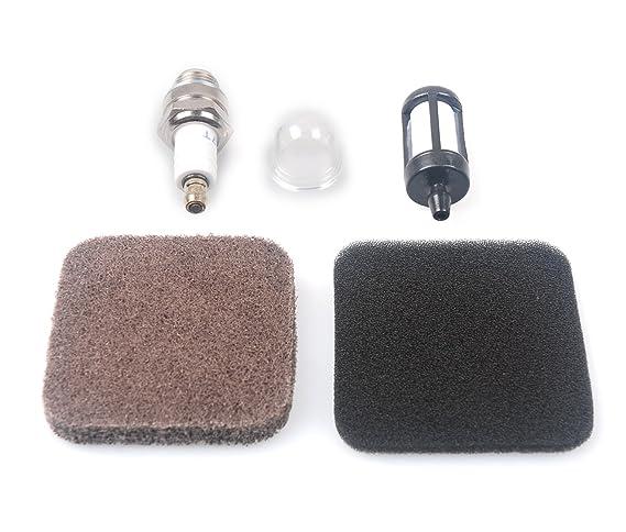 Mckin 530038874 Primer Bulb with Fuel Line Filter for Craftsman String Trimmer Weed Eater Brushcutter