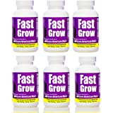 Fast Grow Hair Vitamins Ethnic Hair Growth Enhancer 6 Months Supply for Faster Growing Hair and Healthy Hair Growth