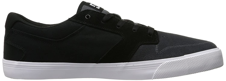 DC Men's Argosy Vulc Skate Shoe, Burgundy, 12.5 M US