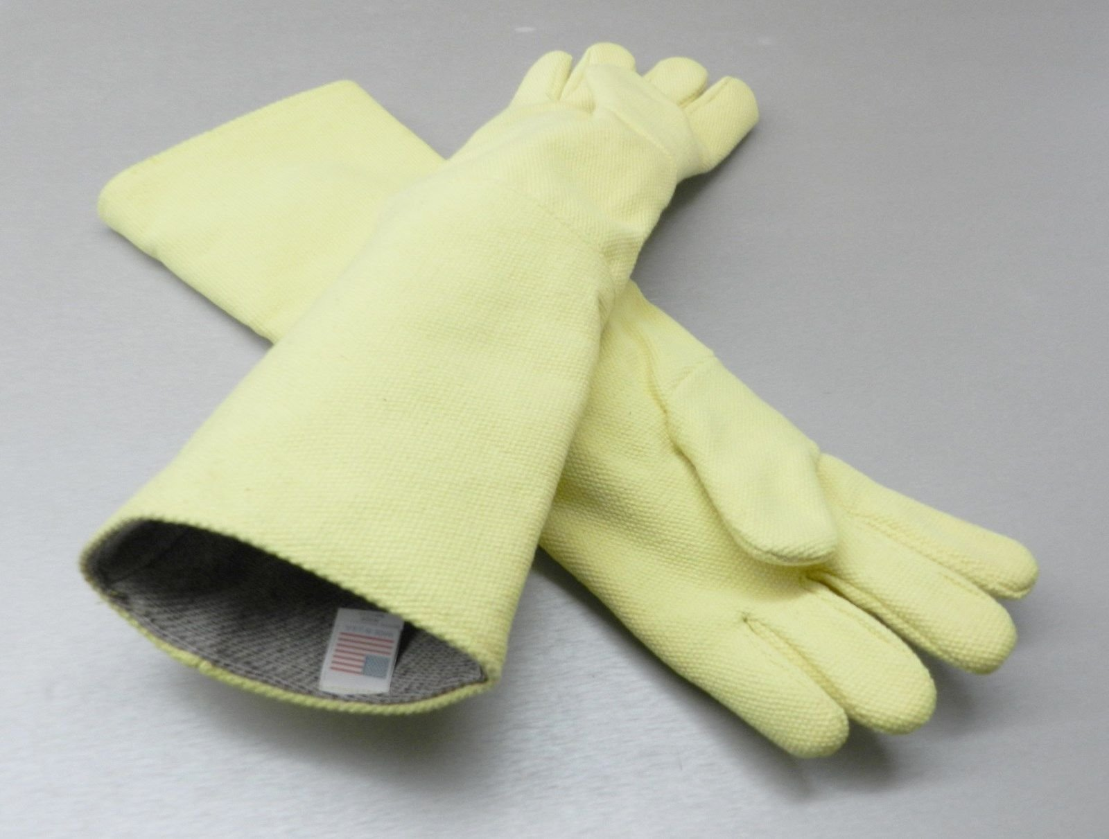 """High Temperature Gloves Heat Resistant Furnace Gloves Smelting Pair 23"""" (1.5lb PP)"""