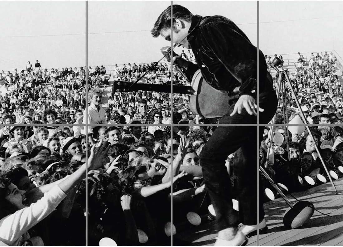 Doppelganger33 LTD Elvis Presley Giant Picture Poster Art Print KB499