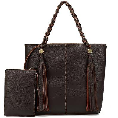 64179e2ad1 Shomico Hobo Bags For Women Shoulder Handbags Ladies Large Fashion Vintage  Purse Metallic (large