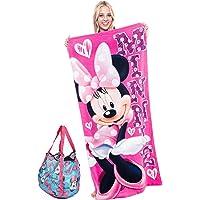 Disney Accessories - Juego de Toalla y Bolsa de Playa de Minnie Mouse (2 Piezas)