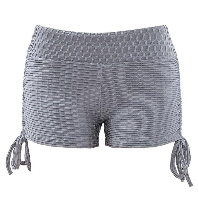 FAMILIZO Pantalones Cortos Mujer Basicos Pantalones Cortos ...