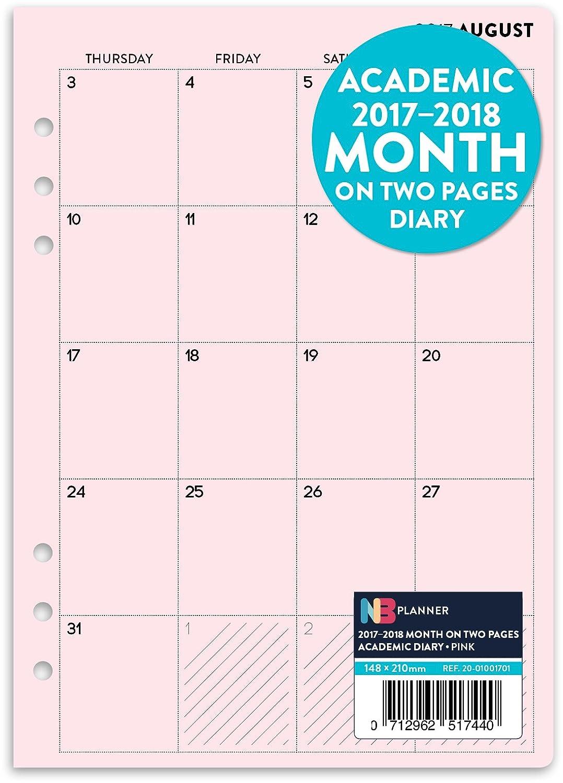 Calendario planificador para año académico 2017 – 2018 ...