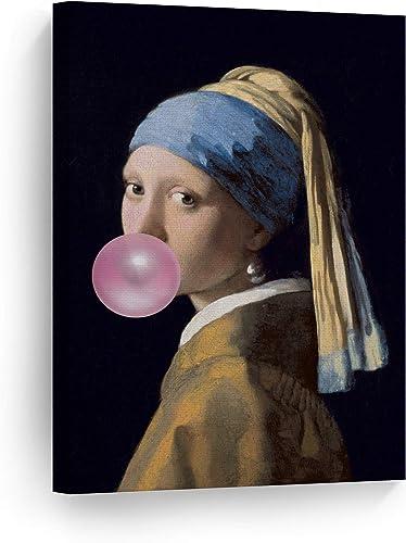 Smile Art Design Johannes Vermeer's Masterpiece Girl