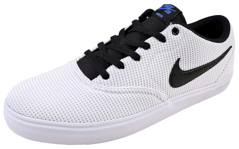 MultiCouleure (blanc noir blanc Hyper Royal 100) Nike SB Check Solar CNVS, Chaussures de Fitness Homme 40.5 EU