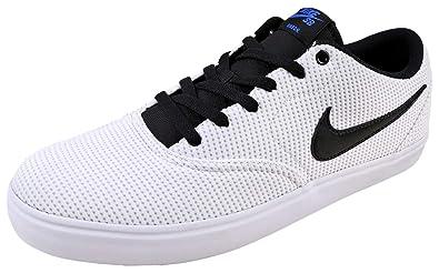 NIKE Herren Sb Check Solar CNVS Sneakers, Sneakers, CNVS Mehrfarbig schwarz Weiß ... 037650