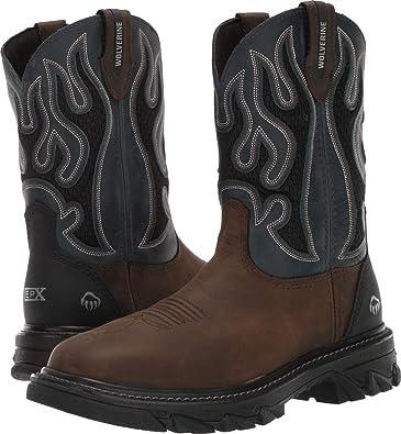 fd195d61c0c Amazon.com: Wolverine Men's Ranch King cm Industrial Shoe: Shoes