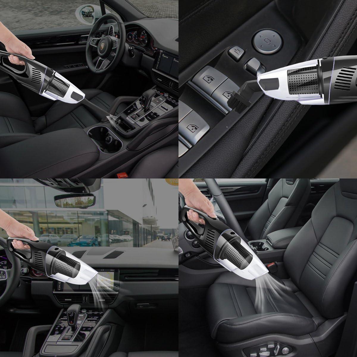 nianpu aspirador inalámbrico auto – Aspiradora de coche con