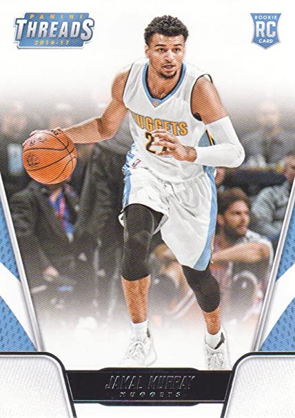 detailed pictures fae70 40fa2 2016-17 Panini Threads Basketball #168 Jamal Murray RC ...