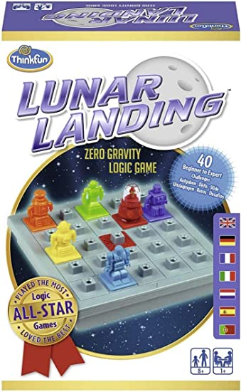 Think Fun- Lunar Landing Juego de Habilidad (Ravensburger 76331): Amazon.es: Juguetes y juegos