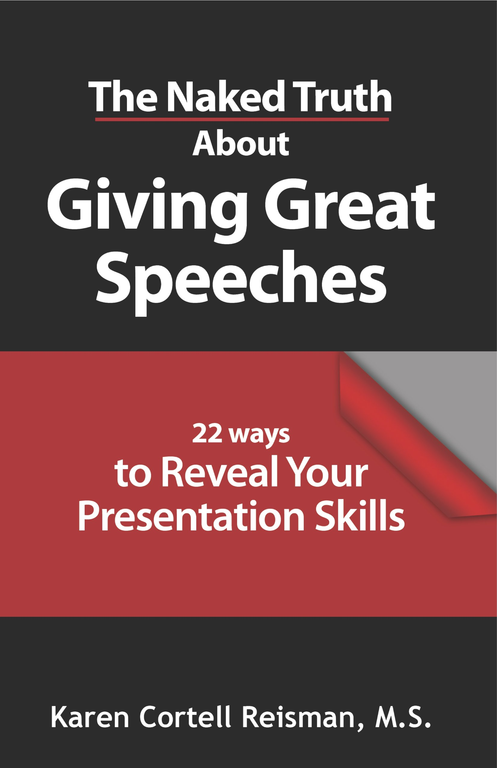 The Naked Truth About Giving Great Speeches pdf epub