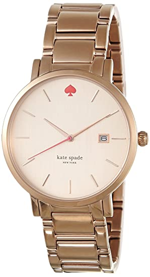 Kate Spade Reloj analogico para Mujer de Cuarzo con Correa en Acero Inoxidable 1YRU0641