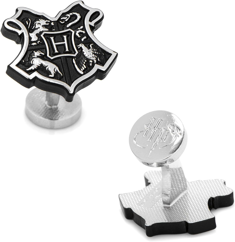 3D Hogwarts Crest Cufflinks
