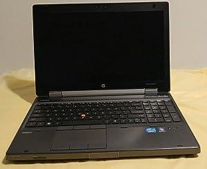 HP EliteBook 8560W Intel Core i7-2620M X2 2.7GHz 4GB 320GB 15.6'' Win7 Pro (Black)