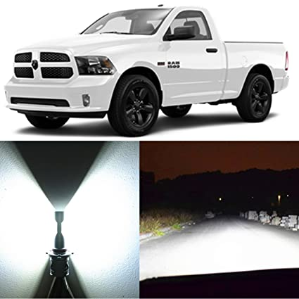 Alla Lighting 2pcs Super Bright White H11 LED Headlight Bulbs for Low Beam Headlamp for 2013