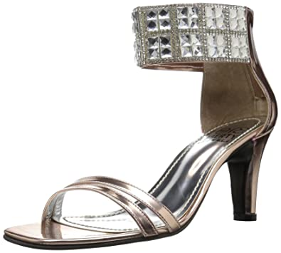 237b7b1d9284 Love   Liberty Women s Scarlett-ll Dress Sandal Rose Gold ...