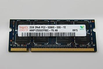 Memoria RAM Hynix 2GB Notebook portátil 2GB 667 ...