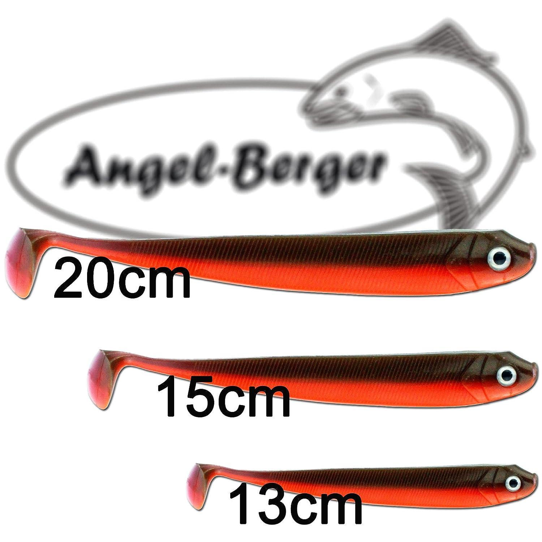 Angel Berger Zander Shad Rainbow Trout Gummifisch