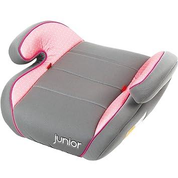Sitzerhöhung Für Kinder.Kinder Sitzerhöhung Autositz Auto Sitz Für Kinder Von 15 Bis 36 Kg Gruppe 2 3 Grau Rosa Pink