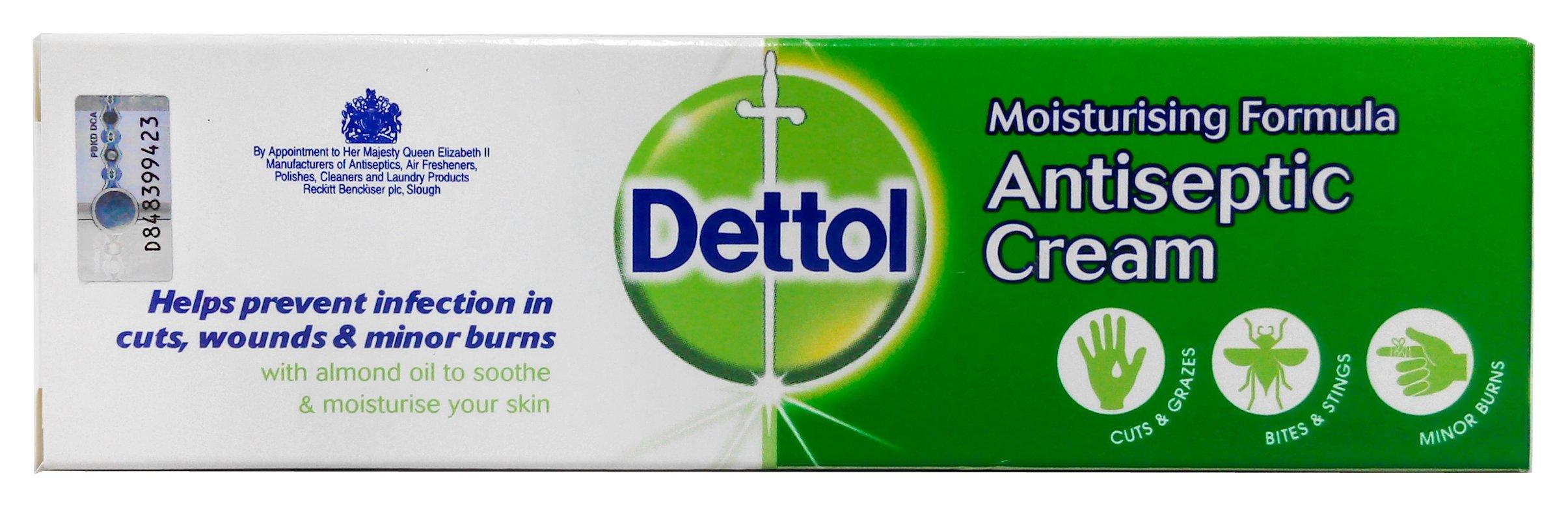 Dettol Refresh Instant Hand Sanitizer 50ml Beauty Original 50 Ml 4 Pcs Antiseptic Cream Moisturising Formula 30g