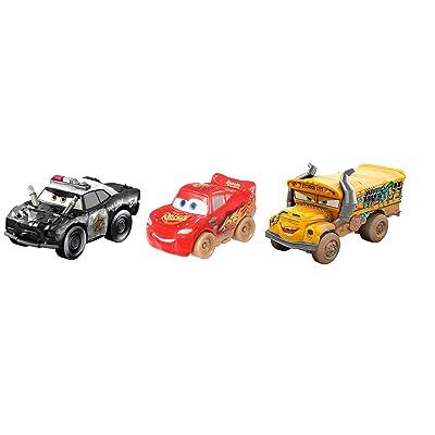 Disney Pixar Cars GBC70 Mini Derby Racers Series 3-Pack, Multicolour: Toys & Games