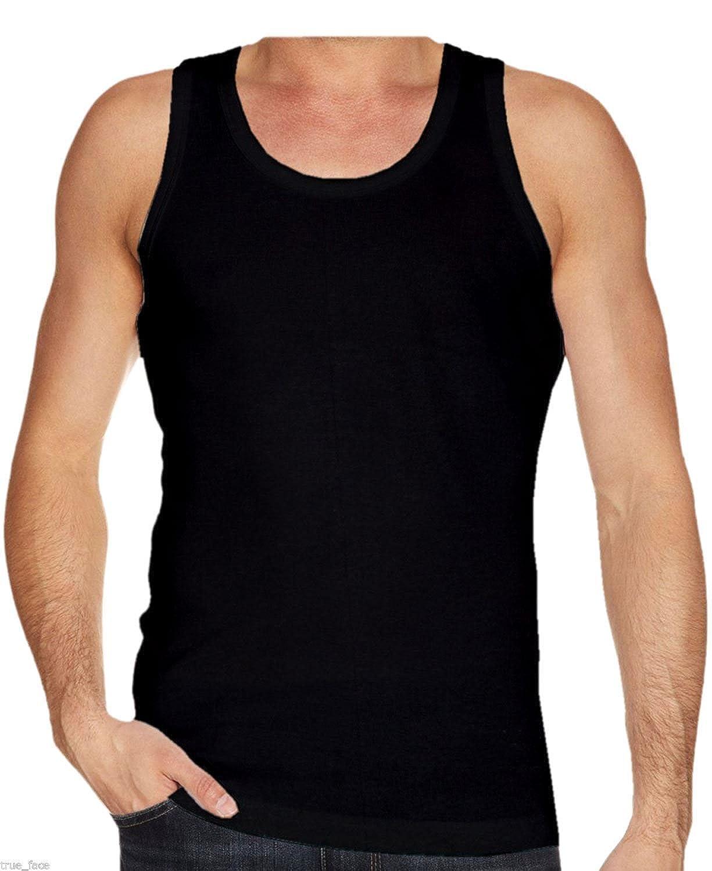 10ca2d6448df9d New Mens Gaffer Brand Multi Pack Lot Basic Regular Fit Cotton Vest Tank Top   Amazon.co.uk  Clothing