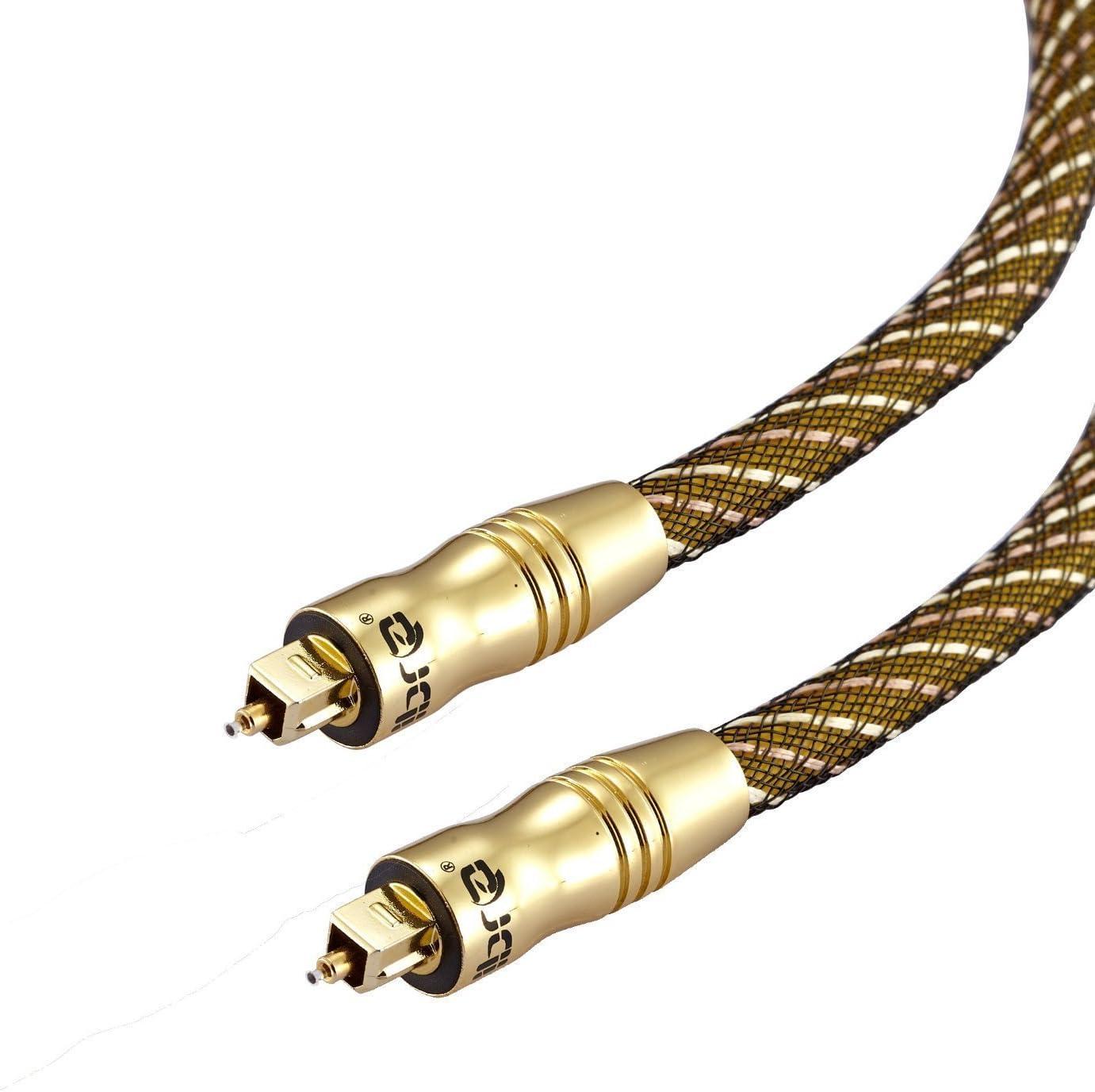 IBRA/® Master Optisches Toslink Digital Kabel 1Meter