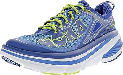 Hoka One Men's Bondi 4 Directoire Blue/True Ankle-High Running Shoe - 11.5