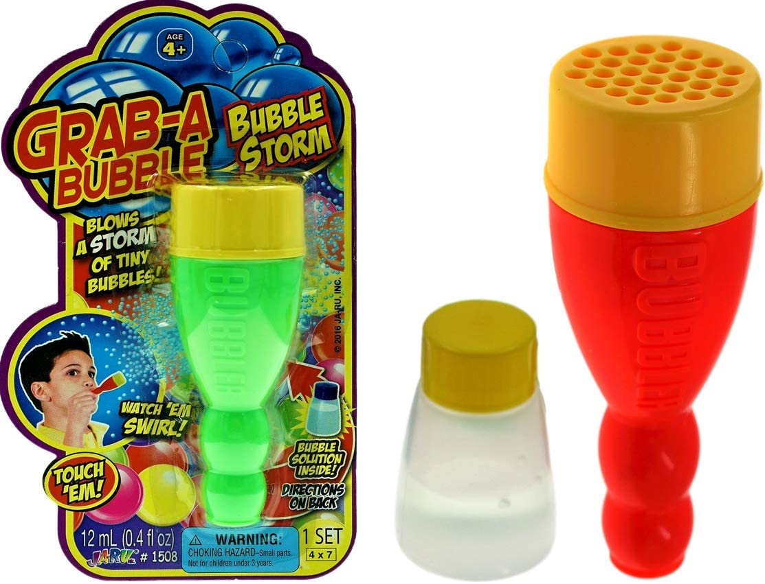 CHILDRENS MINI TOUCHABLE BUBBLES Kids Party Bag Fillers Toys Boys and Girls Fun