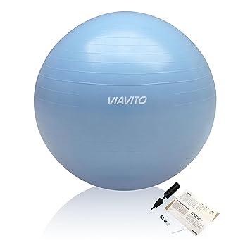 Viavito 200kg Gymball Anti-Pinchazos - Balón De Ejercicios Con ...