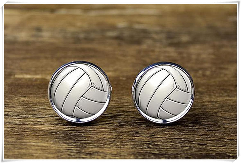 Volleyball Cufflinks Volleyball Jewelry Sports Cufflinks