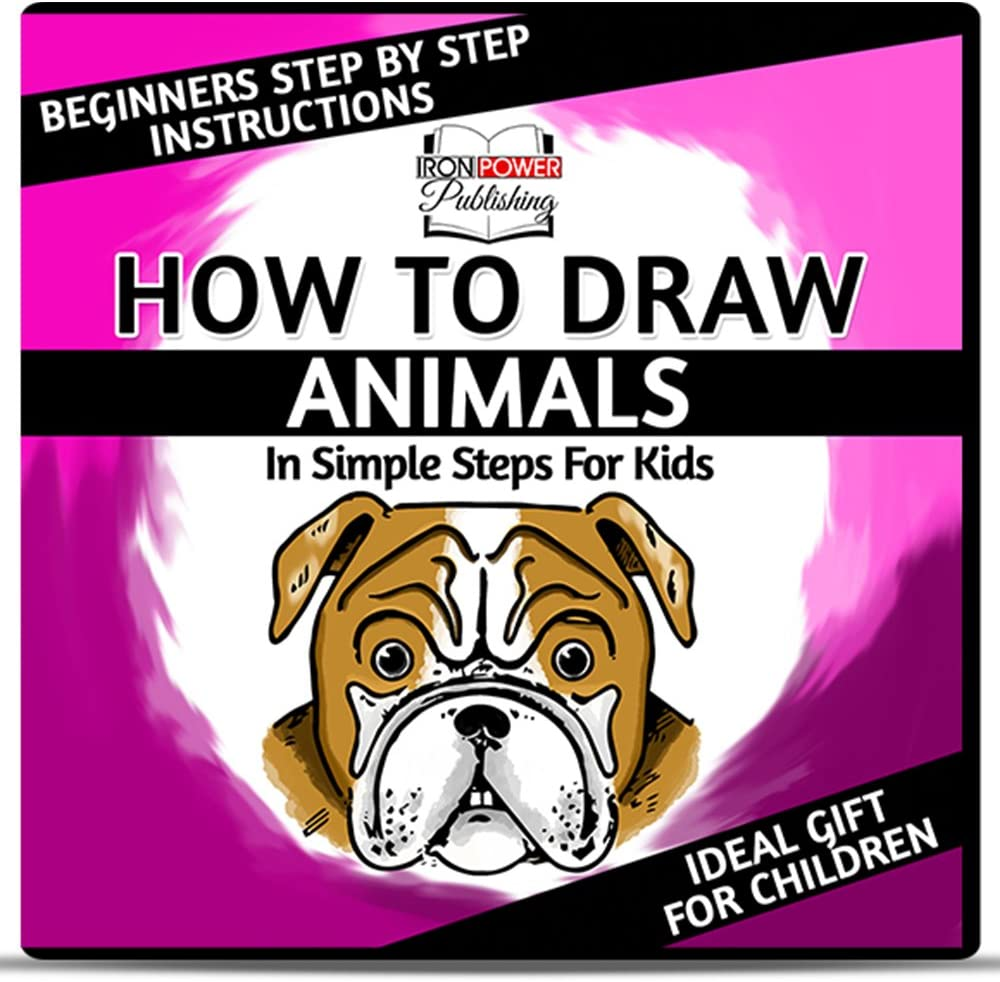 Amazon Com How To Draw Cartoon Animals In Simple Steps For Kids