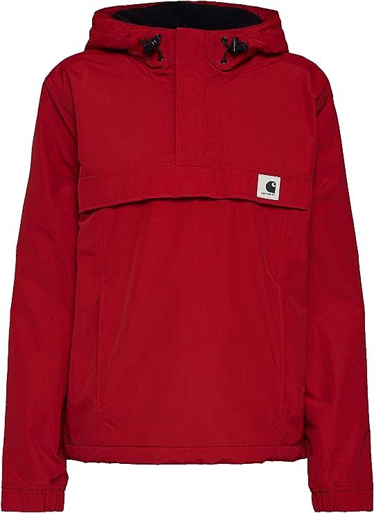 Carhartt W Nimbus Pullover Blast Red Giacca Streetwear AI18 ...