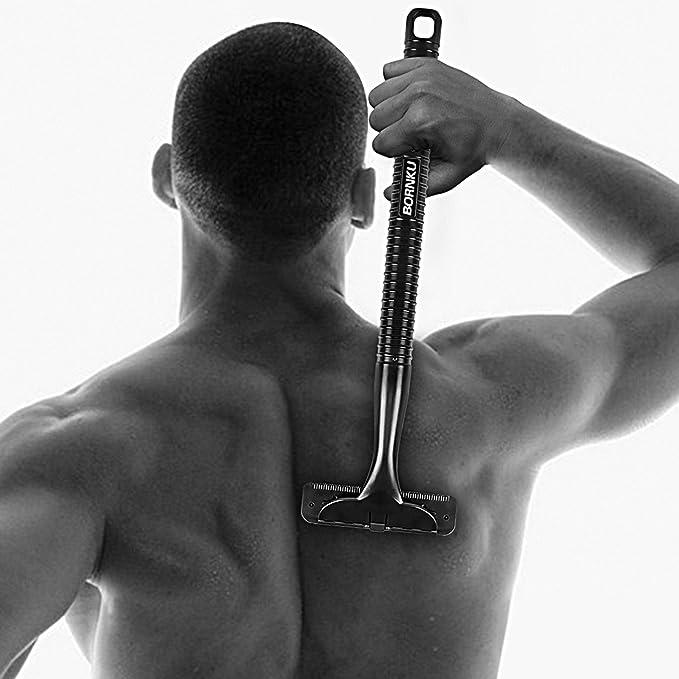 Bornku Afeitadora Corporal Hombre BS100 Maquinilla de Afeitar de ...