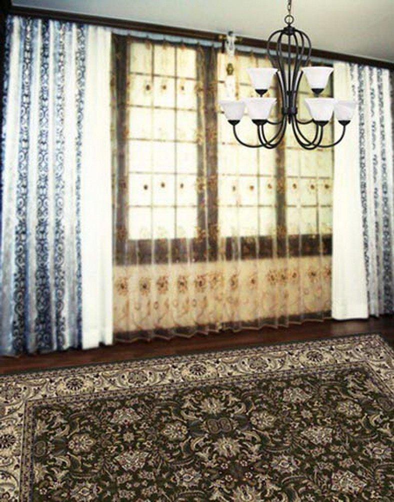 ヴィンテージ部屋フラワーカーペット写真Backdrops写真小道具Studio背景5 x 7ft   B01GC5EDE0