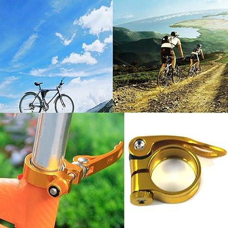 hunpta 31,8 mm MTB Bike Bicicleta Ciclismo Silla tija Clamp Quick ...