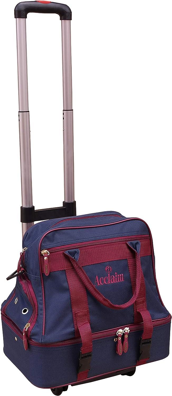 ACCLAIM Farne Midi Double Decker Mens Ladies Two Tier Bowling Bowls Bag