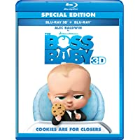 Boss Baby on 3D + Blu-ray + Digital