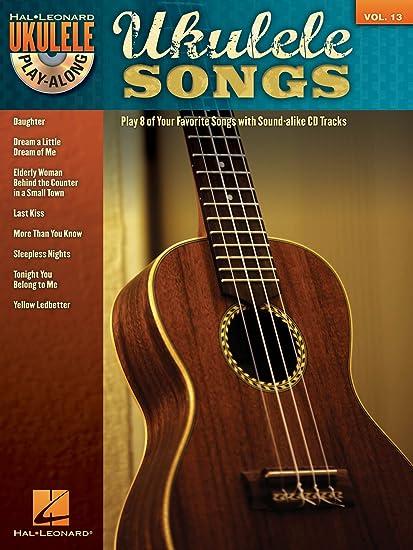 Amazon Hal Leonard Ukulele Songs Ukulele Play Along Volume 13
